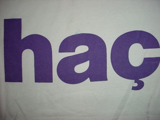Vintage Fac 51 The Hacienda T-Shirt Club 1989 XL/L