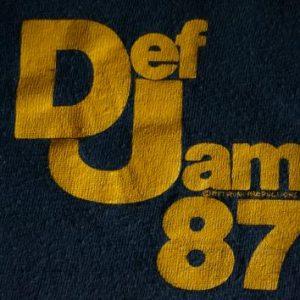 Vintage Def Jam Local Crew T-Shirt '87 Bigger and Deffer L/M
