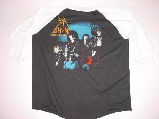 Vintage Def Leppard Rock Brigade T-Shirt Jerey L