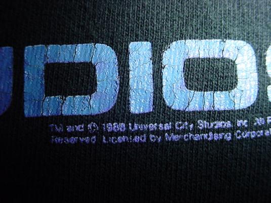 Vintage Miami Vice T-Shirt Stunt Crew Universal Studios M/S