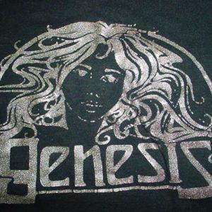 Vintage Genesis T-Shirt Peter Gabriel Era 1970s S