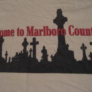 Vintage Welcome to Marlboro Country T-Shirt Anti-Smoking L