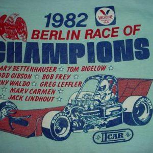 Vintage Berlin Race of Champions Valvoline T-Shirt 1982 S