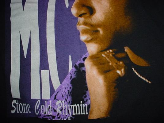 Vintage Young MC T-Shirt Stone Cold Rhymin' 1990 M