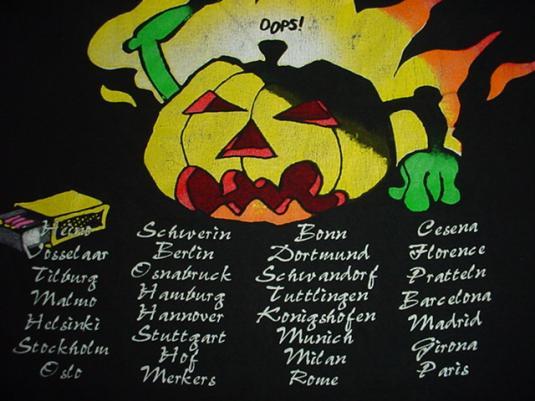 Vintage Helloween Tour 1996 T-Shirt