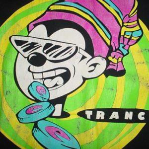 Vintage Nervous Records New York T-Shirt Trance XL