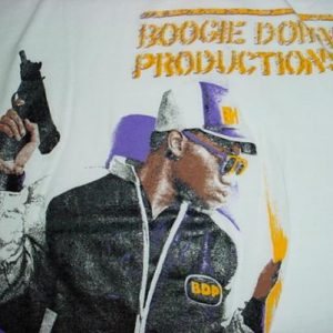 Vintage Boogie Down Productions T-Shirt BDP M/S KRS-ONE