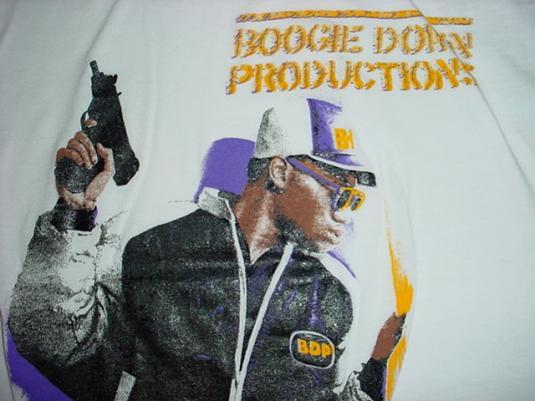 Vintage Boogie Down Productions T-Shirt BDP M/S KRS-ONE