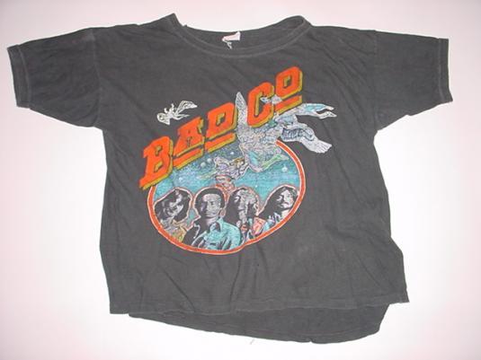 Vintage Bad Co T-Shirt Company Rock N Roll Fantasy M/S