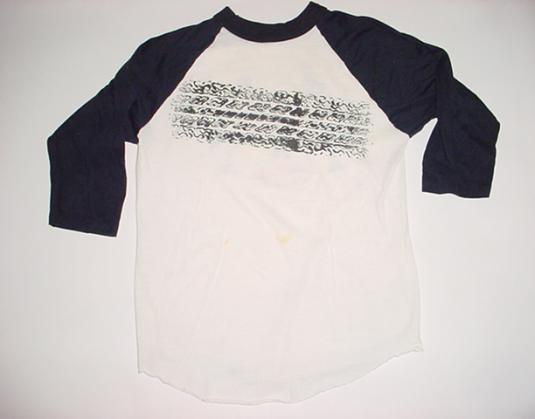 Vintage The Cars T-Shirt 1980 Tour Jersey M/S