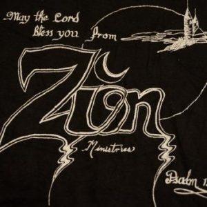 Vintage ZION Ministries Psalm 134:3 T-Shirt M/L