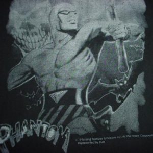 Vintage The Phantom T-Shirt Lee Falk 1990s L/M