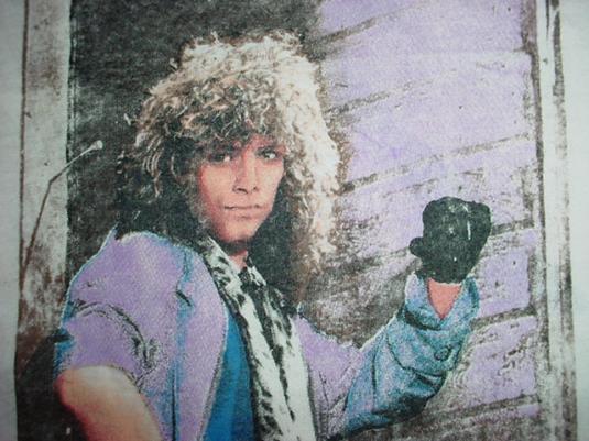 Vintage Bon Jovi T-Shirt Slippery When Wet Tour M