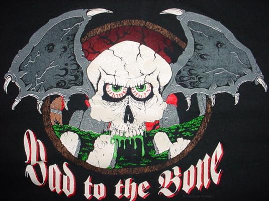 Vintage Bad to the Bone T-Shirt XL/L