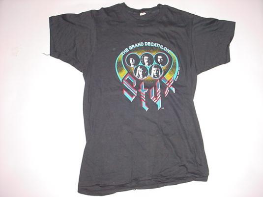 Vintage STYX Grand Decathlon T-Shirt M/S