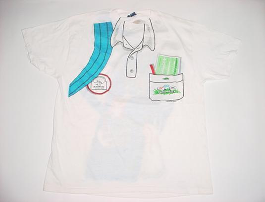 Vintage Caddyshack II 2 T-Shirt Golf Novelty Bushwood M/L