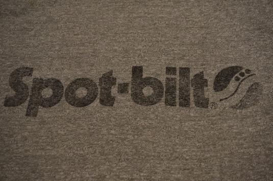 Vintage Spot-Bilt Adidas Branded T-Shirt S