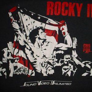 Vintage Rocky IV T-Shirt 4 Dolph Lundgren Drago Ivan M/L