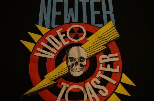 Vintage NEWTEK VIDEO TOASTER NTSC PAL AMIGA T-Shirt S