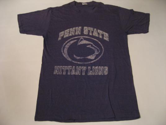Vintage Penn State Nittany Lions Champion Brand T-Shirt S