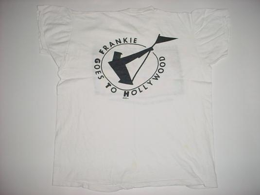 Vintage Frankie Goes to Hollywood T-Shirt Pleasuredome M/S