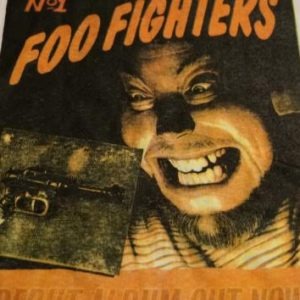 Vintage Foo Fighters Debut Album T-Shirt No 1 1995 XL