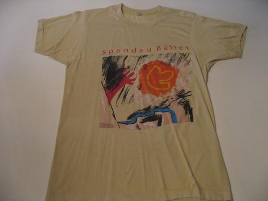 Vintage Spandau Ballet Tour T-Shirt True S/M