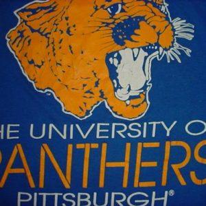 Vintage University of Pittsburgh Panthers PITT T-Shirt S