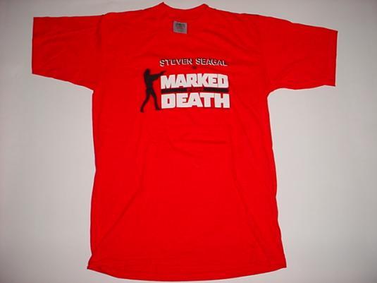 Vintage Steven Seagal T-Shirt Marked For Death M