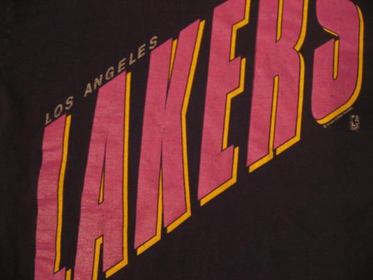 Vintage Los Angeles Lakers L.A. LA T-Shirt 1990s L/M