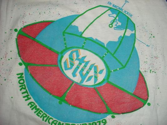Vintage STYX Grand Decathlon Jersey T-Shirt M/L