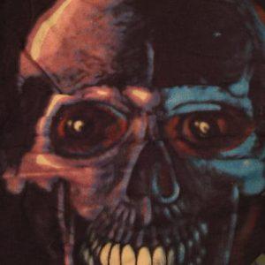 Vintage Skull Sasquatch T-Shirt Body Graphics Headbone L/M