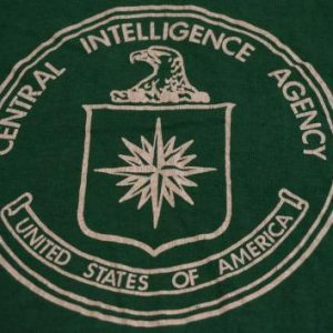Vintage Central Intelligence Agency CIA T-Shirt S