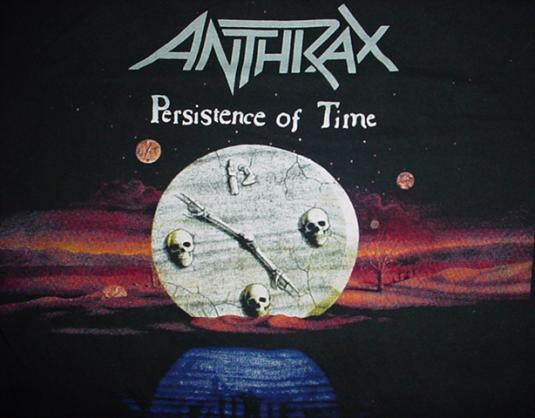 Vintage Anthrax Persistence of Time T-Shirt S