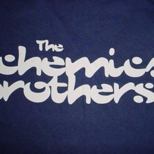Vintage The Chemical Brothers T-Shirt Freestyle Dust 90s XL