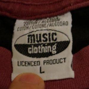 Vintage MTV ROCK IM PARK T-Shirt Jersey