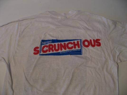 Vintage Revenge of the Nerds II Nestle Crunch 87 T-Shirt M/S