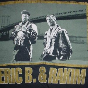 Vintage Eric B. & Rakim Paid in Full T-Shirt M/L