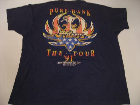 Vintage Hank Williams Jr T-Shirt Bocephus M/L