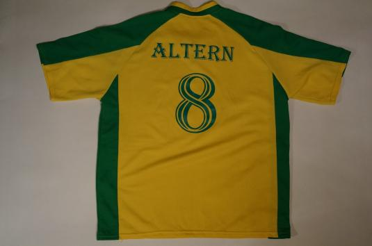 Vintage Altern8 Altern 8 Football Jersey Re-Activ8 T-Shirt L