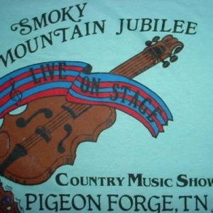 Vintage Smoky Mountain Jubilee Tennessee M/S