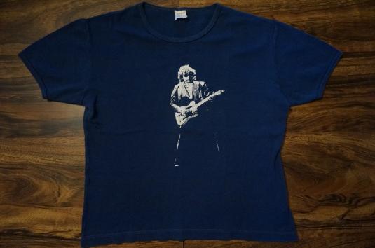 VTG 1970s RARE BOB DYLAN VISCOSE/RAYON BLEND TOUR T-SHIRT