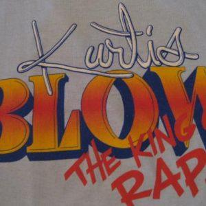 Vintage Kurtis Blow King of Rap Fresh Tour T-Shirt M/L