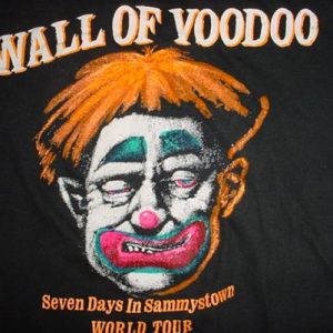 Vintage Wall of Voodoo T-Shirt Seven Days in Sammystown 85 S