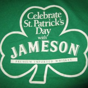 Vintage St. Patrick's Day Jameson Irish Whiskey T-Shirt M