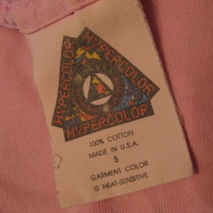 Vintage Generra Hypercolor Pink T-Shirt M