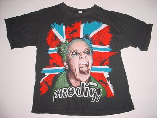 Vintage The Prodigy T-Shirt Keith Flint Fat of the Land L