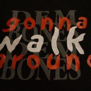 Vintage Dem Bones Gonna Walk Around James Weldon TShirt L/XL