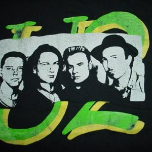 Vintage U2 T-Shirt Bono 1980s S