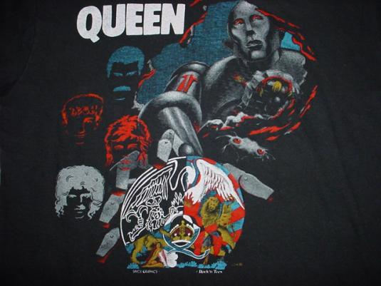 Vintage Queen T-Shirt M/S